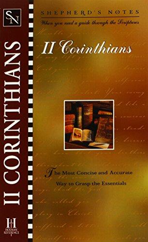 Shepherds Notes : 2 Corinthians