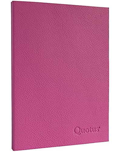 tem Leder Quotus-Notizbuch Convivium für erinnern Urlaubsreisen und Abendessen Wichtige ()