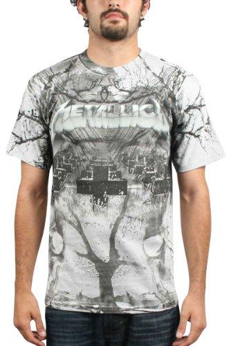 Preisvergleich Produktbild Metallica - Puppet Strings Herren T-Shirt, Medium, Grey