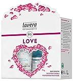 Lavera Geschenkset Love ∙ Basis Sensitiv Feuchtigkeitscreme & Basis Sensitiv Regenerierende Nachtcreme ∙ Vegan ✔ Bio Pflanzenwirkstoffe ✔ Naturkosmetik ∙ 1er Pack