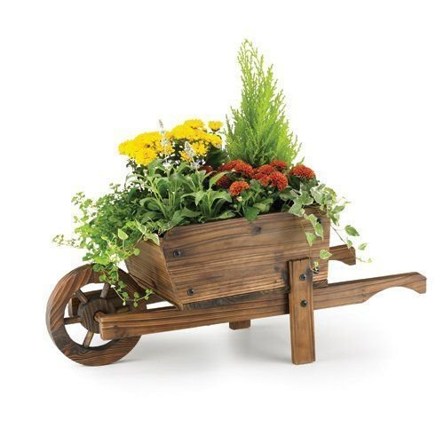 Rustic Garden Supplies Ornamental Wheelbarrow Planter BAR5/B