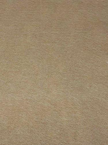 Filz Stoff Blatt farbig sortiert Schnittmuster Crafts DIY Kleidung Kleidung, wodurch 300mm x 310mm almond (Almond Stoff)