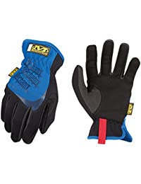 Mechanix Wear Utility Gants, Noir/Bleu, L