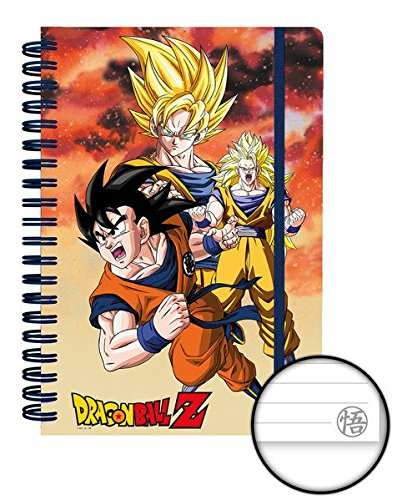 Dragonball Z Notebook A5 Goku Case (12) Cancelleria