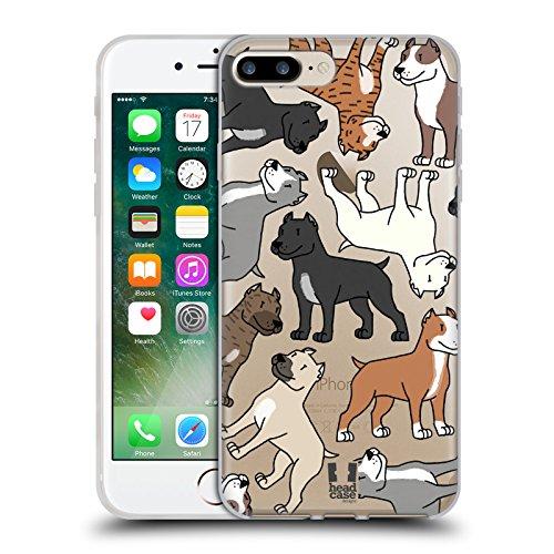 Head Case Designs Épagneuls Cavaliers King Charles Race De Chien Modèle 3 Étui Coque en Gel molle pour Apple iPhone 5c Pitbull Terrier