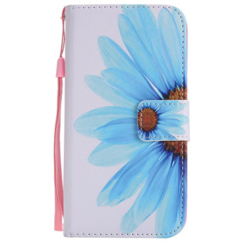 Custodia iPhone X, iPhone X Cover Wallet, SainCat Custodia in Pelle Flip Cover per iPhone X, Ultra Sottile Anti-Scratch Book Style Custodia Morbida Cover Protettiva Caso PU Leather Custodia Libretto A Girasole