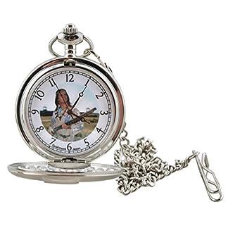 Runde-Indianer-Taschenuhr-Winnetou-in-Geschenkbox-Lizenzartikel-Uhr