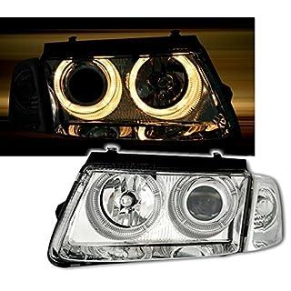 AD Tuning GmbH & Co. KG 960574 Angel Eyes Fernscheinwerfer Set, Klarglas Chrom