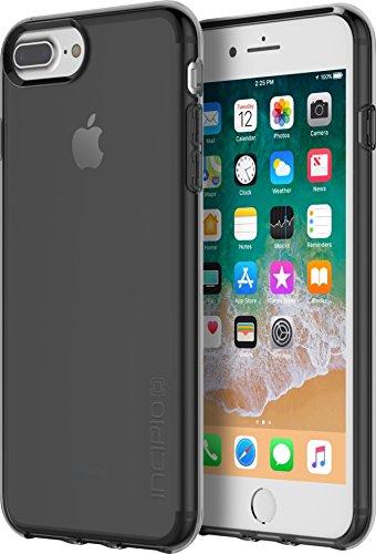Incipio NGP Pure Case Schutzhülle für Apple iPhone 8 Plus / 7 Plus / 6S Plus - schwarz [Stoßfest | Reißfest | Flexibel | Transparent] - IPH-1506-BLK