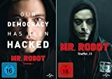 Mr. Robot - Staffel 1+2 im Set - Deutsche Originalware [7 DVDs]