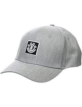 Element Treelogo Gorra, Unisex Adulto, Gris (Grey Heather), Talla Única