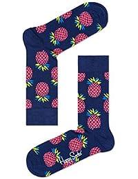 Happy Socks Nouvelle Collection SS 2017 Nombreuses Tailles et couleurs - Ananas Marine, UK 7-11 (EUR 41-46)