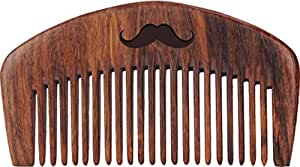 MEN DESERVE Sheesham Wooden Beard Comb (Hand Made)