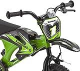 Kinderfahrrad Kawasaki Kids Bike Moto 16 Zoll mit Rücktrittbremse Farbe: Grün -