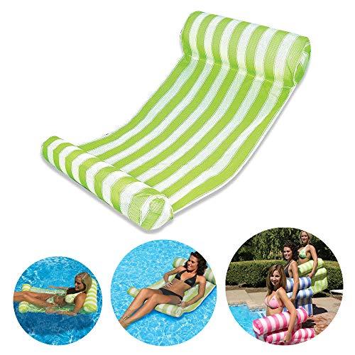 6b34398e1f41 Swimming Pool Beach Floating Water Hammock Lounge Chair, HomeYoo Inflatable  Water Rafts Floating Bed,Floating Chair,Water Sofa,Inflatable Swimming ...