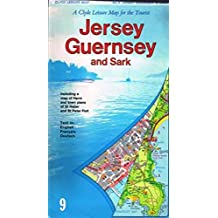 Jersey, Guernsey and Sark Leisure Map