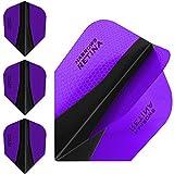 Harrows X Retina, Alette per freccette, set da 3, Extra-resistenti, 100 Micron, misura Standard, colore: viola