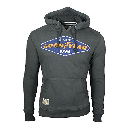 Goodyear Mens Hoody Tallahassee Anthracite