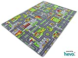 Stadt Mix HEVO® Strassen Spielteppich | Kinderteppich 145x200 cm