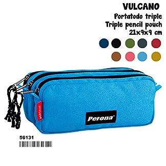 PERONA-MC-56131 Estuche Portatodo, Multicolor, 21 centímetros Montichelvo_56131
