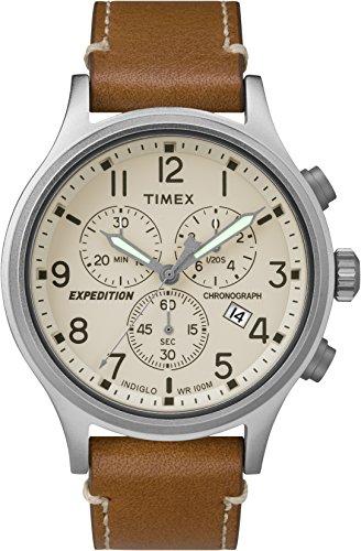Timex Orologio Analogico Quarzo Uomo con Cinturino in Pelle TW4B09200ZA