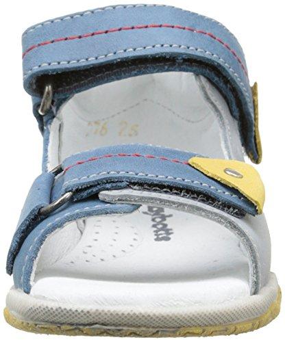 Babybotte Themis, Sandales Bout ouvert garçon Bleu (276 Jeans)