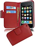 Cadorabo Coque pour Apple iPhone 3 / 3S / 3GS ROUGE CERISE Housse de Protection Etui...