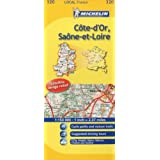 Michelin Map France: Cte-d'or, Sane-et-loire 320