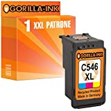 Gorilla-Ink® 1 Patrone XXL remanufactured für Canon CL-546 XL Pixma IP2850 MG2455 MG2500 Series MG2550 MG2555 MG2940 MG2950 S MG3050 MG3051 MG3052