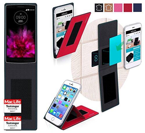 reboon Hülle für LG G Flex 2 Tasche Cover Case Bumper | Rot | Testsieger