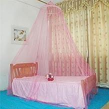 Mosquitera Dosel para cuna y cama de los niños rosa rosa