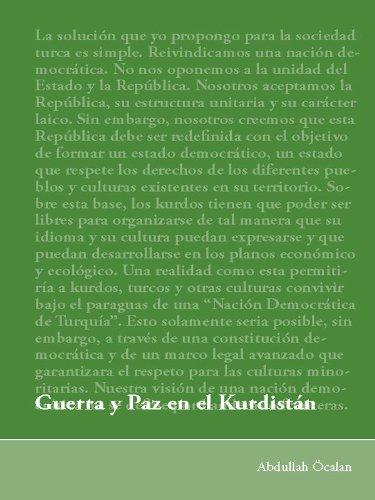 Guerra y paz en el Kurdistán eBook: Abdullah Öcalan: Amazon.es ...