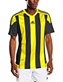 adidas Herren Trikot/Teamtrikot Striped 15 JSY, Black/Yellow, S