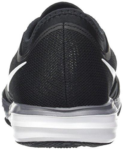Nike - 844674-001, Scarpe sportive Donna Nero (Black/White/Mtlc Cool Grey/Wolf Grey)