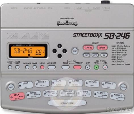 Zoom SB-246 Streetbox Drum Com