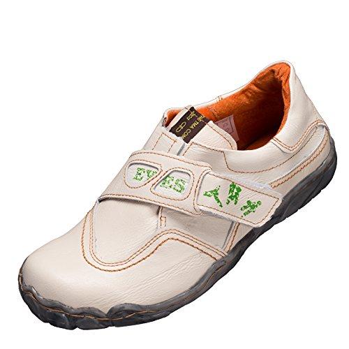 TMA Sneaker 1901. Größe 36 - 42 . Neues Modell. Tma Schuhe Breiter Schnitt. Bequem mit flacher Sohle und perforiertem Fußbett. Leder. In den Farben Grün, Cremeweiss, Weissmix, Schwarz, Blau oder Rot Cremeweiss