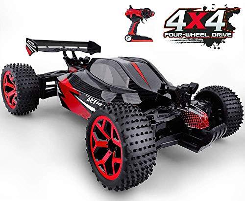 GizmoVine RC Voiture Télécommandée 4WD Haute Vitesse Voiture Electrique Racing 2.4 Ghz Buggy RC Véhicule pour Enfants et Adultes