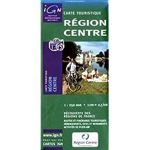 Carte routière : Région Centre