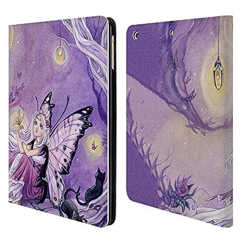 Officiel Meredith Dillman Papillons Fée Étui Coque De Livre En Cuir Pour Apple iPad Air