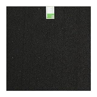 acerto 31699 Anti vibration mat - Washing machine mat - 60x60x0,6 cm - Granulate rubber