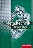 Metalltechnik Tabellenbuch: 3. Auflage. 2011 von Hübscher. Heinrich (2006) Gebundene Ausgabe