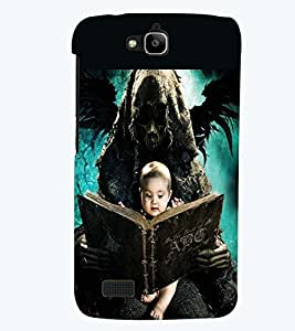 PRINTSWAG BABY WITH GHOST Designer Back Cover Case for HUAWEI HONOR HOLLY