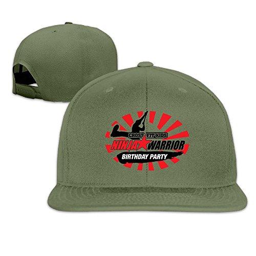 thna-american-ninja-warrior-logo-rglable-fashion-casquette-de-baseball-vert-taille-unique