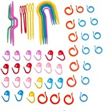 Plastic Knit Stitch Knitting Needles Crochet Stitch Knitting Accessories