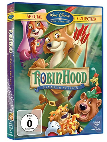 Robin Hood Disney Walt (Robin Hood (Special Collection))