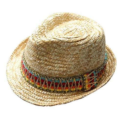 Toyvian Mexican Hat Strohhut Mexican Sombrero Hat Outfit Zubehör für Wild West Fancy Dress