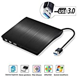 USB3.0 externes CD DVD Laufwerk Brenner, QinYun Superdrive für Alle Laptops/Desktop Unter Windows und Mac OS für Apple MacBook, MacBook Pro, MacbookAir, iMac
