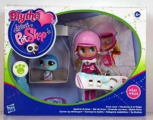 Littlest Petshop - 32378 - Blythe Loves LPS - Snow Love / Vacance à la Neige - Blythe #B27 et Pingouin #2168