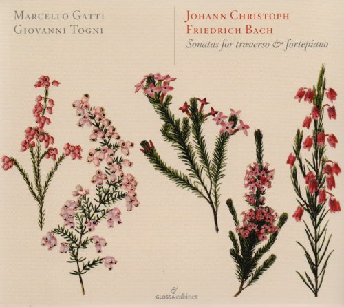 JCF Bach: Sonatas for traverso and fortepiano