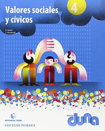 Valores Sociales y Cívicos 4 - Proyecto Duna - 9788430719501